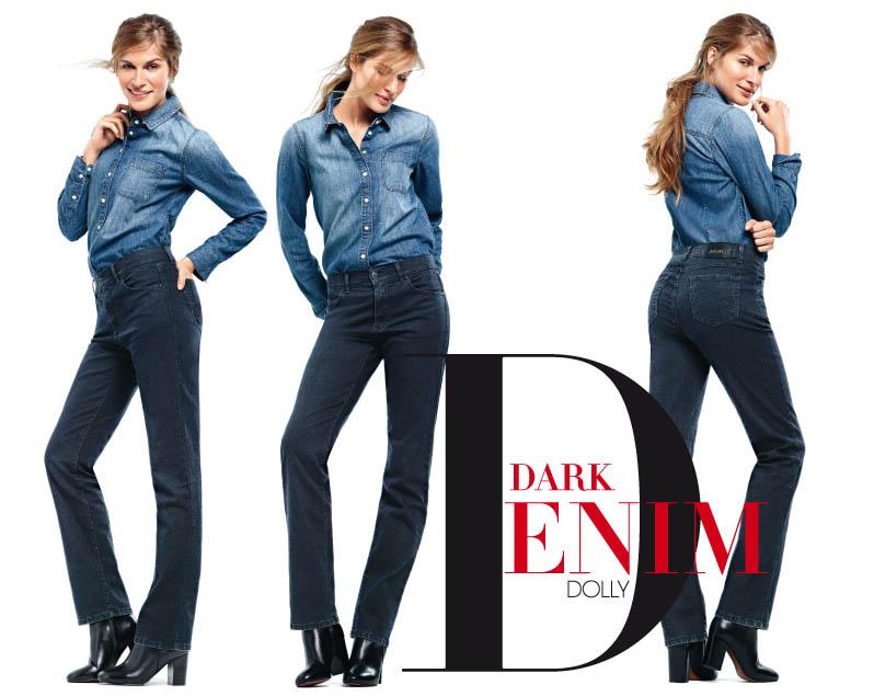 angels jeans dark denim dolly