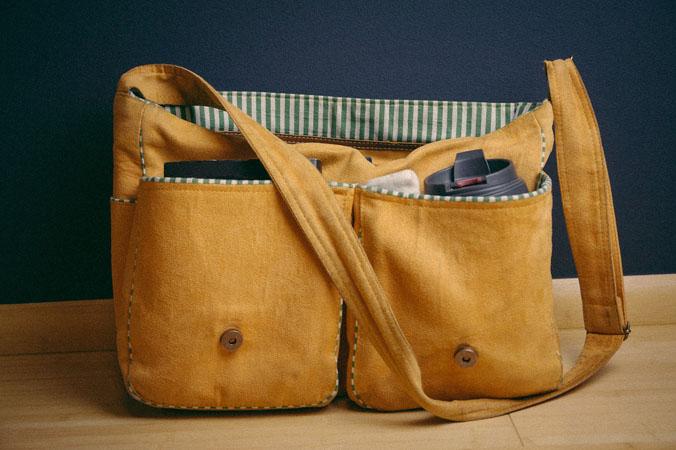Tasche Gelb Accessoires