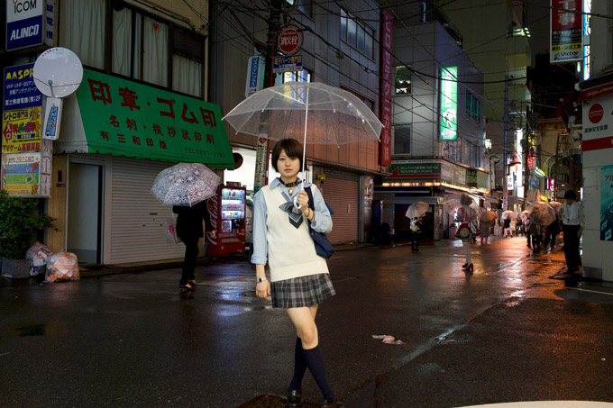 Schulmädchen Tokio Girl