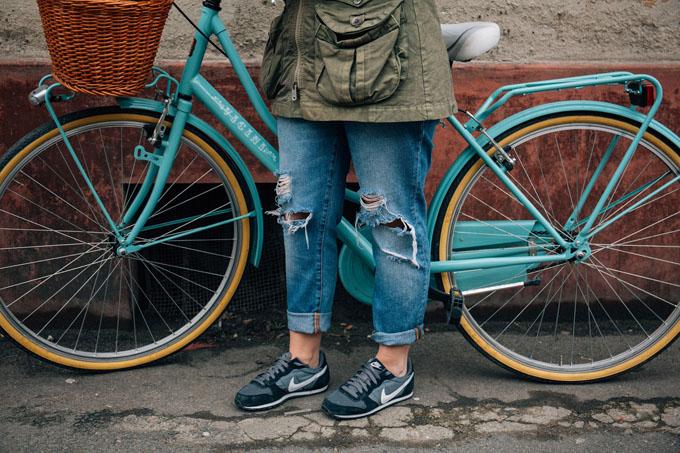 jeanshose-used-look