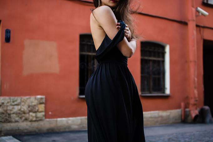 Sommerkleid Schwarz Kleid