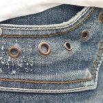 Nietenjeans Nietentasche Jeanstasche