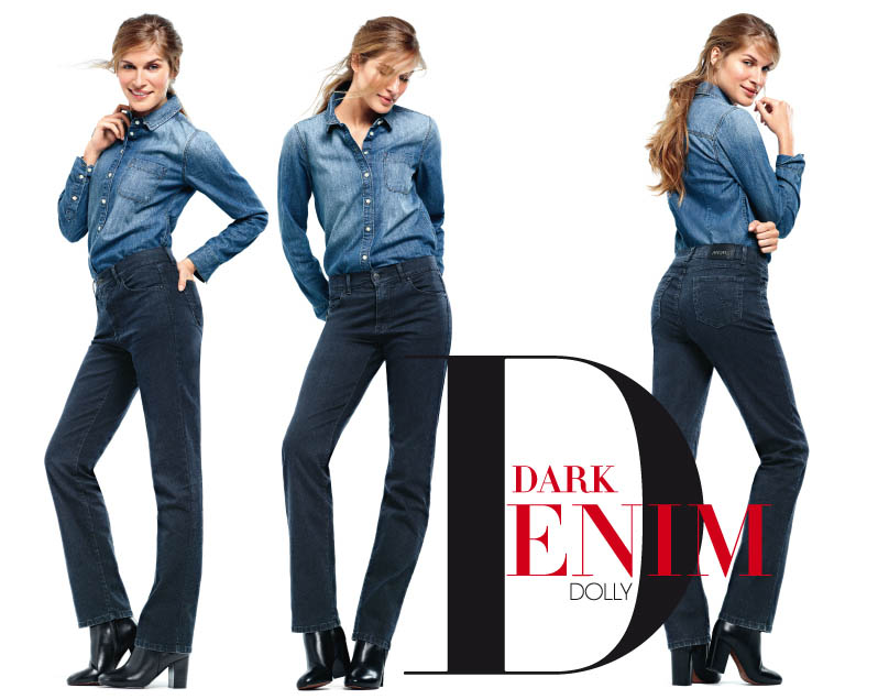 angels jeans dark denim dolly
