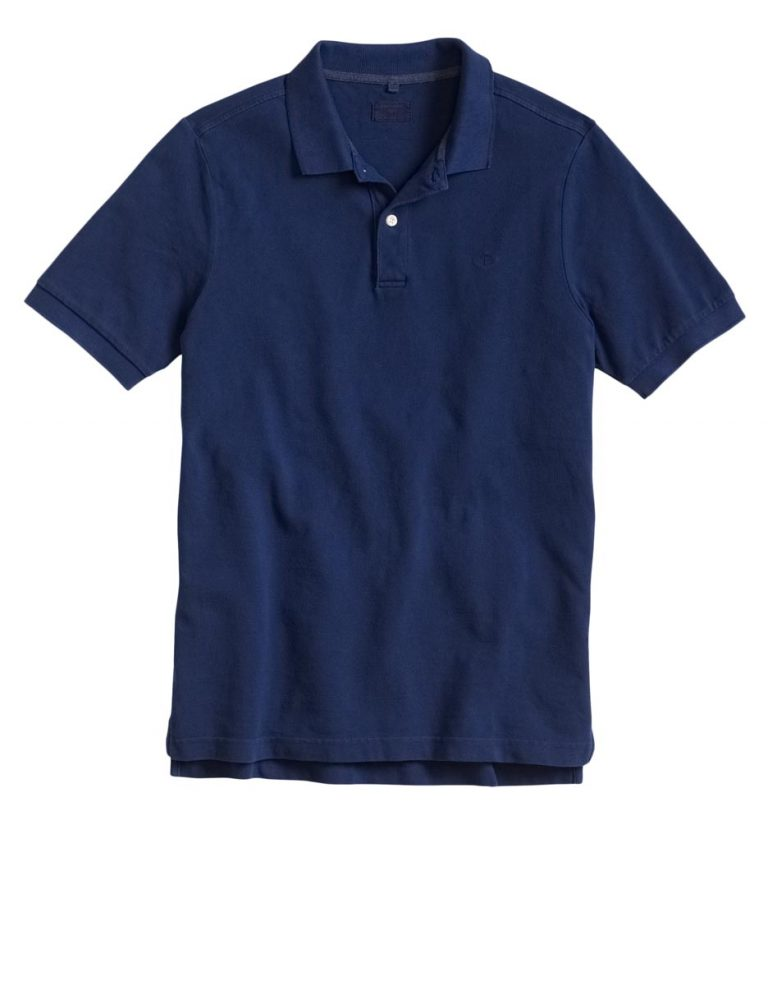 Dockers Pique Polo Shirt Medieval Blue
