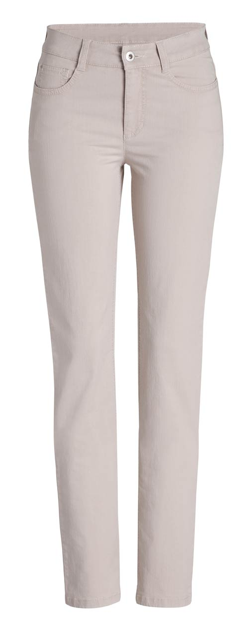 Mac Angela Hose - Slim Fit - Soft Beige