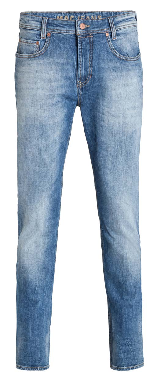 Mac Arne Pipe Jeans - Summer 3D Vintage Wash