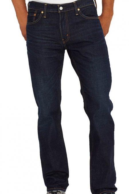 Levis 504 Jeans - Straight Leg - Indigo Black