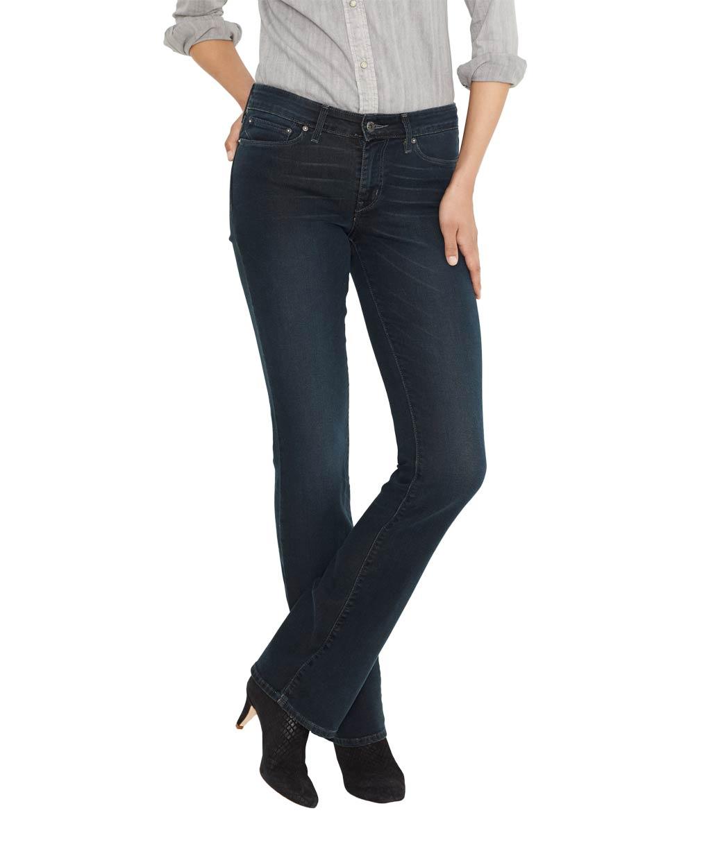Levis Demi Curve - Bootcut Jeans - Burnt Wood