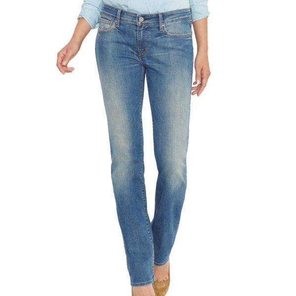 Levis Demi Curve – Straight Jeans – Sandwashed Shell