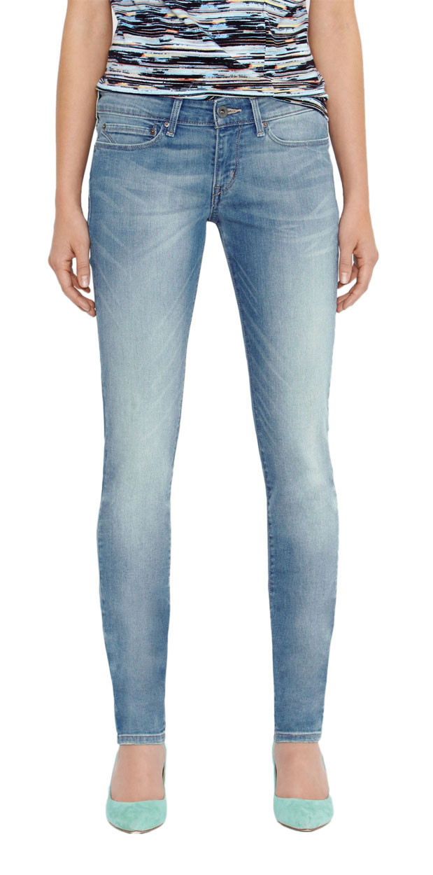 Levis Slight Curve - Skinny Jeans - Electric Land