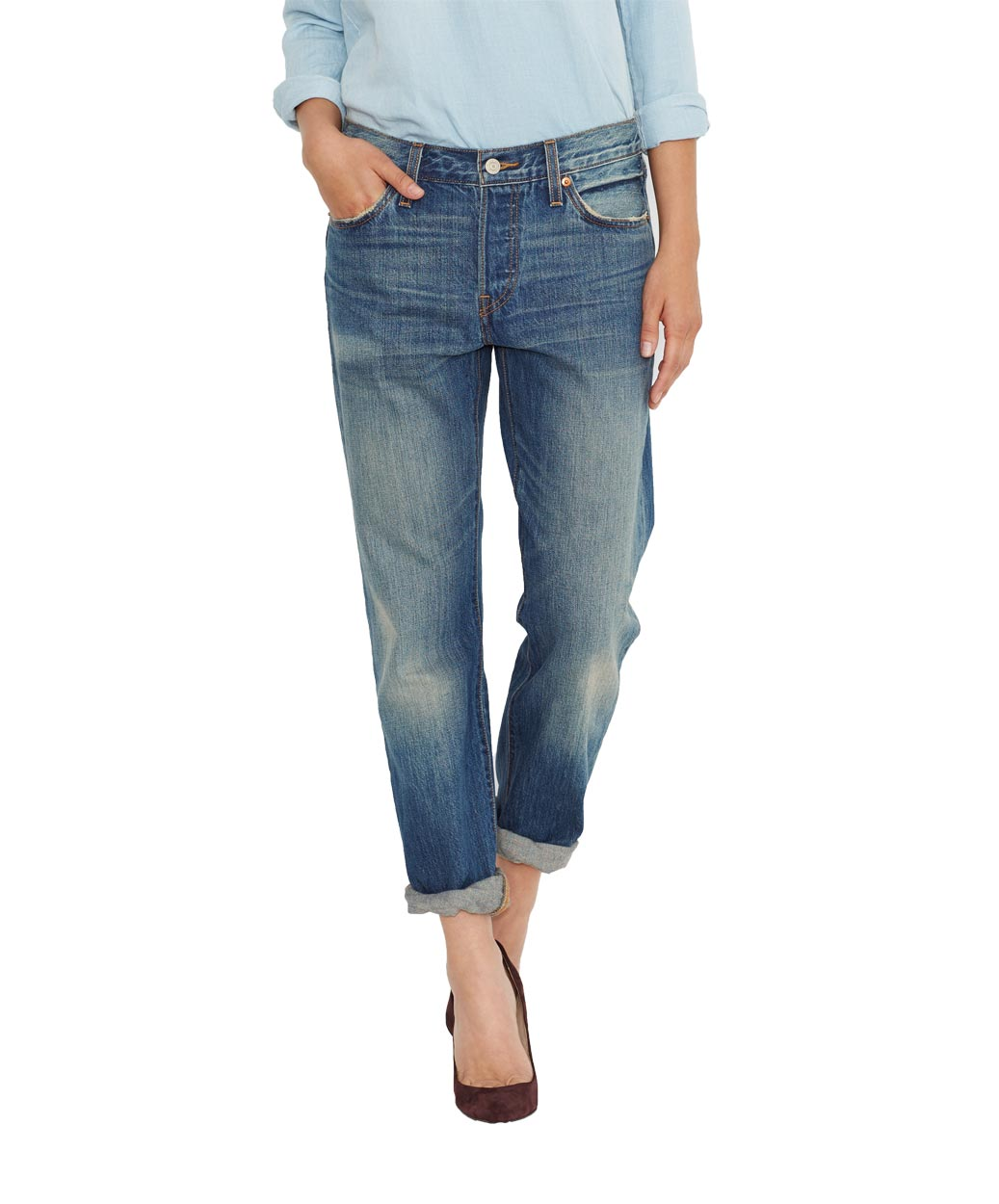Levis 501 Jeans for Women - Vintage Indigo