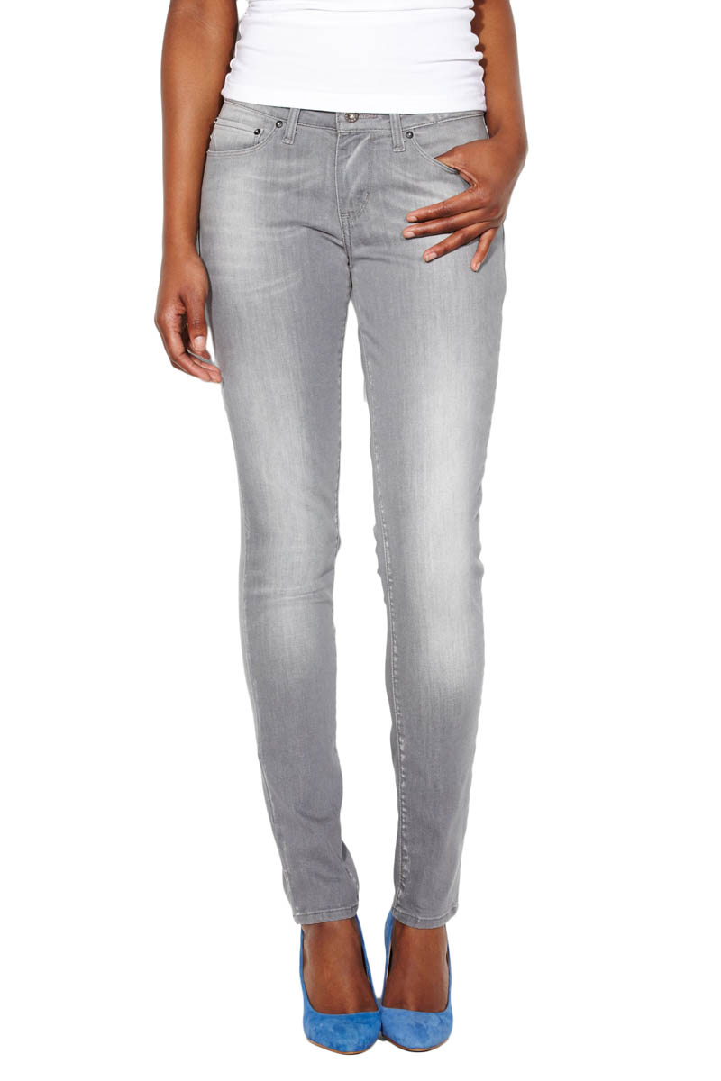 Levis Demi Curve - Skinny Jeans - Grey Freeze