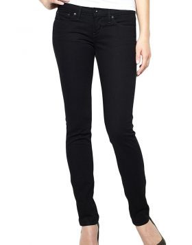Levis Slight Curve Skinny Jeans Pitch Black