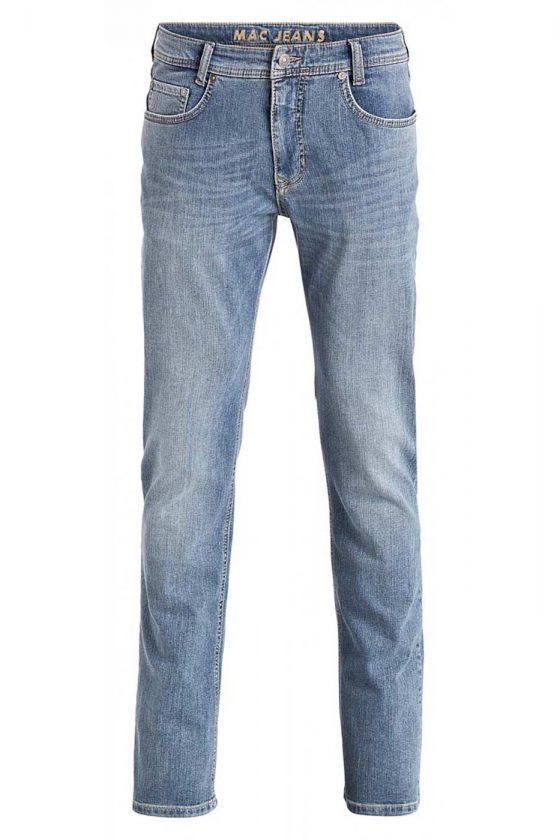 MAC ARNE Jeans - Straight Leg - Light Authentic Used