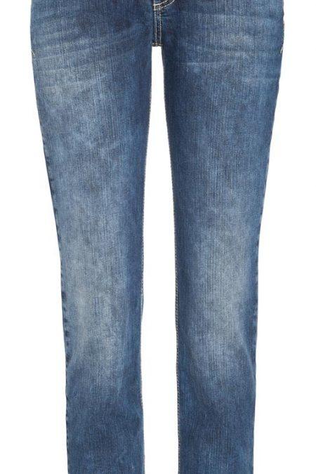 MAC CARRIE PIPE Jeans - American Denim - Dark Authentic Used