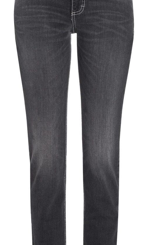 Mac Carrie Pipe Jeans - American Authentic Denim - Black Grey Used