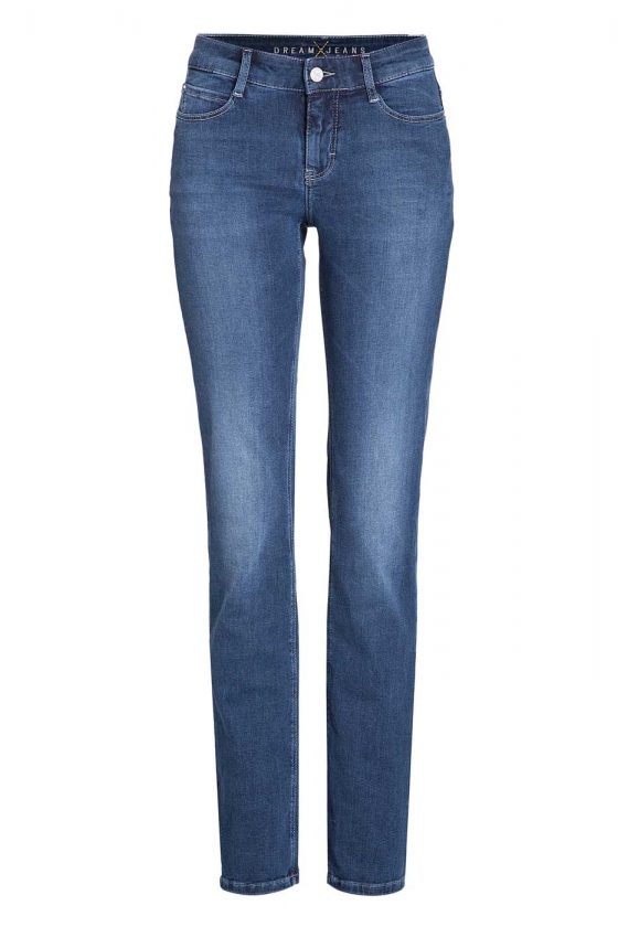 MAC DREAM Jeans - Straight Leg - Dark Used