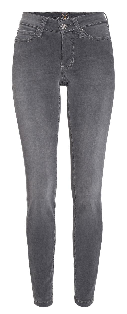 MAC DREAM SKINNY - Slim Fit Jeans - Anthra Used