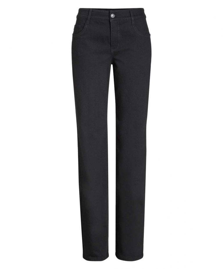 Mac Gracia Jeans - Feminine Fit - Black Black