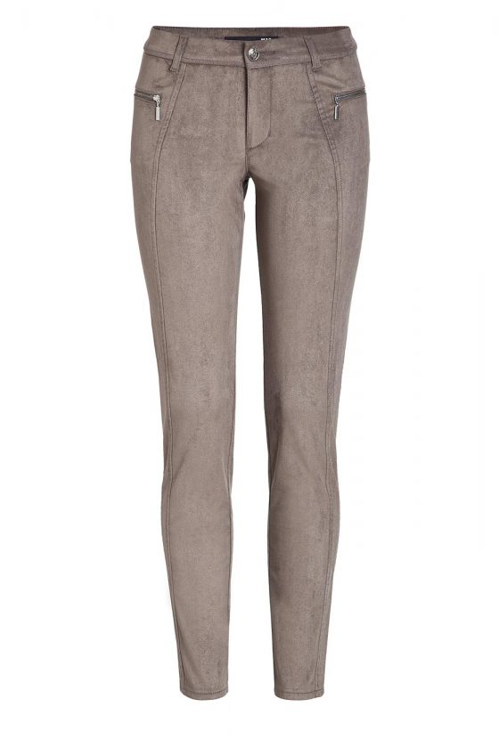 MAC Legging Zip - Super Slim Fit - Military Taupe