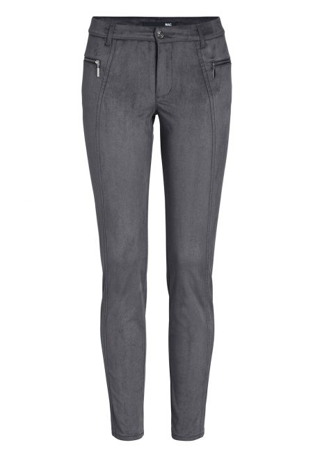 MAC Legging Zip - Super Slim Fit - Shark Grey