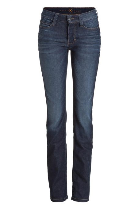MAC DREAM Jeans Straight Leg Dark Fancy Used