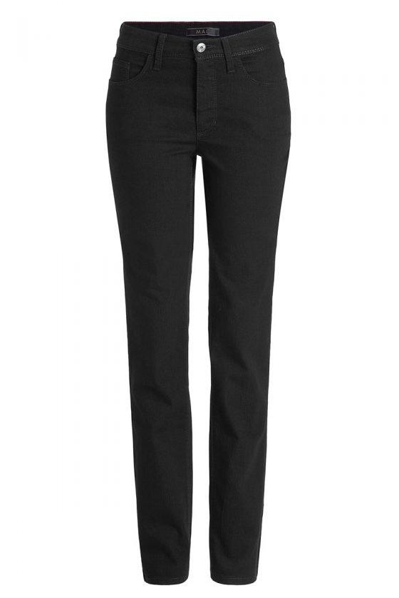 MAC Melanie Stretch -gerader Schnitt- Jeans Black