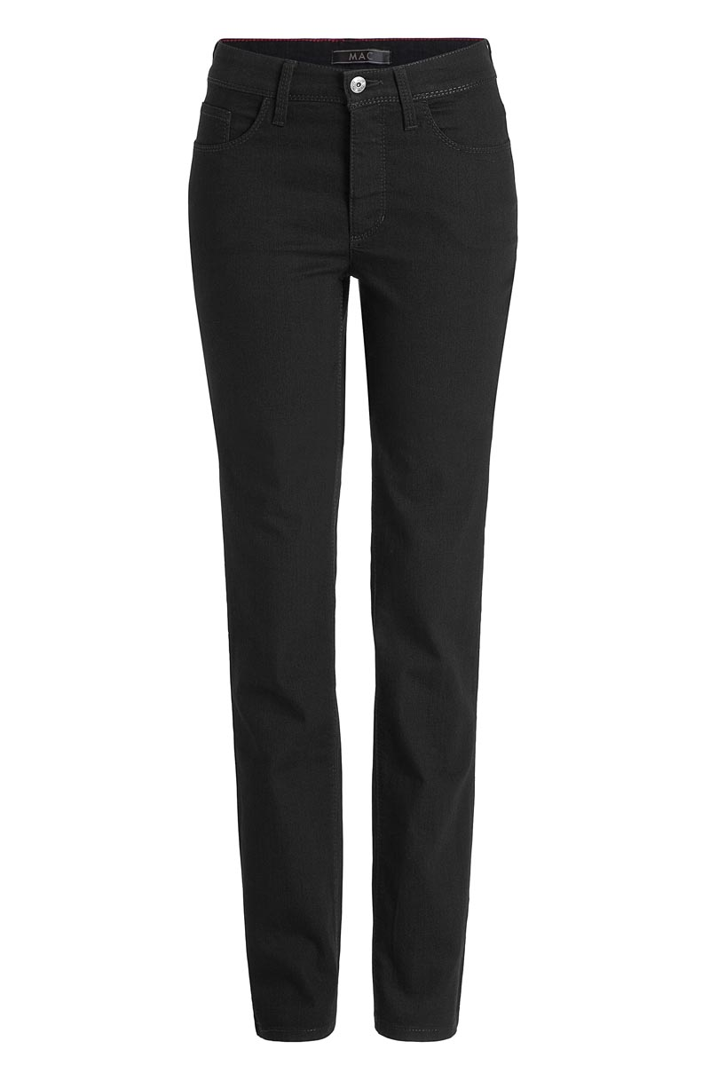 MAC Melanie Stretch -gerader Schnitt- Jeans Black