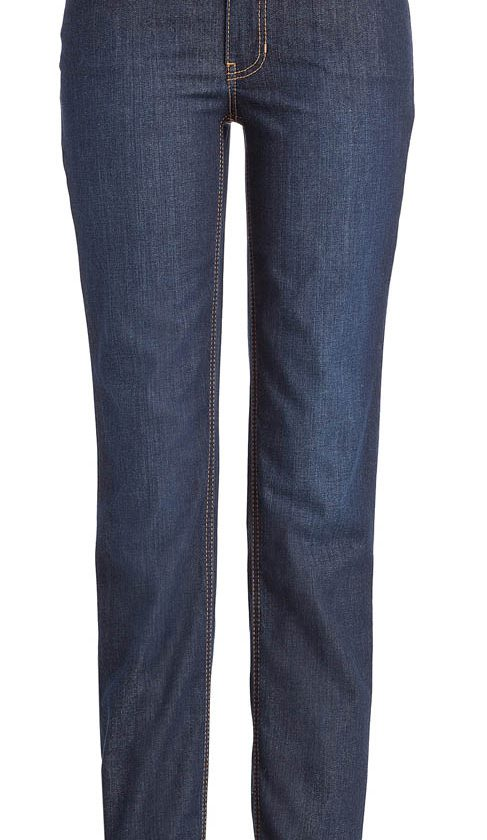 Mac Melanie Jeans - Straight Leg - Dark Washed
