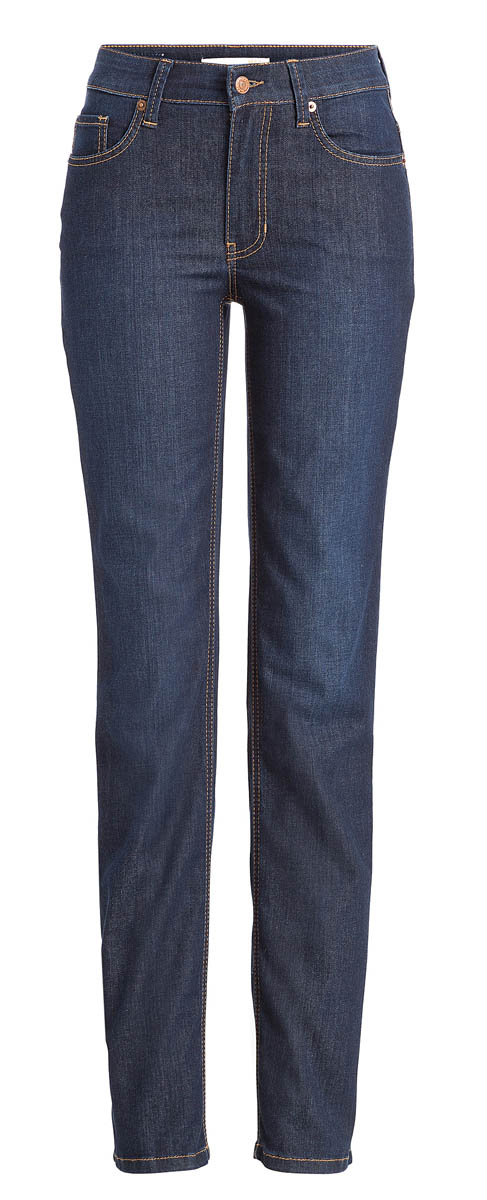 Mac Melanie Jeans - Straight Leg - Dark Washed
