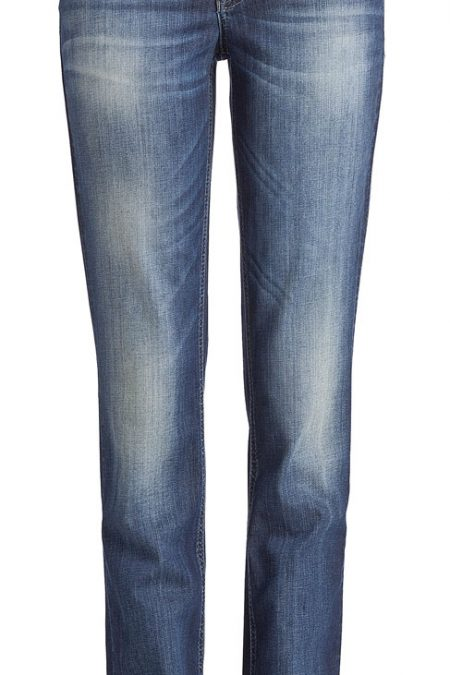Mac Melanie Jeans - Straight Leg - Vintage Dark Wash