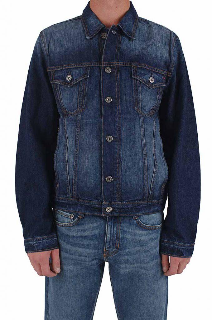 riesiges Inventar wähle das Neueste Genieße den niedrigsten Preis Mustang Jeans Jacke dark scratched used