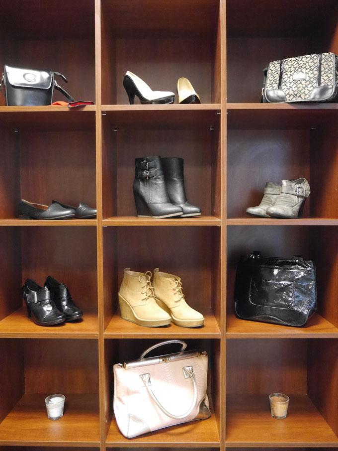 Schuhe Kleiderschrank Schuhschrank