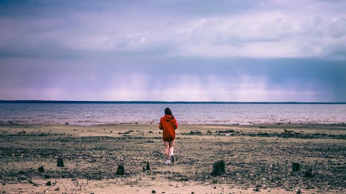 strand hoodie sweatshirt frau